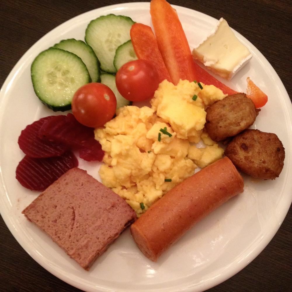 Hotel food!