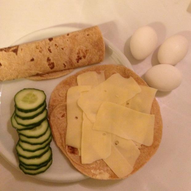 Lavkarbo lefser/LCHF tortilla
