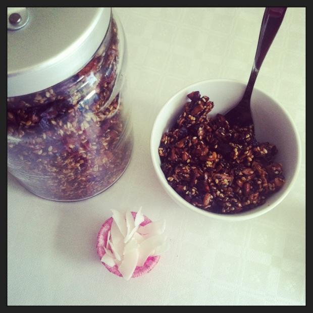 Hjemmelaget musli/Homemade granola