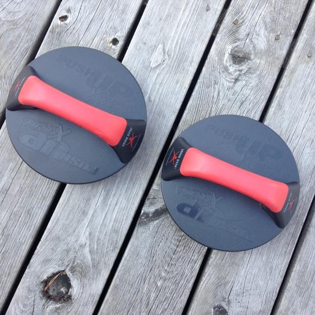 Iron gym med håndtak som gir et godt grep