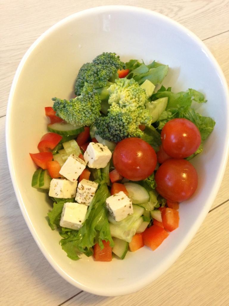 Salat, tilbehør