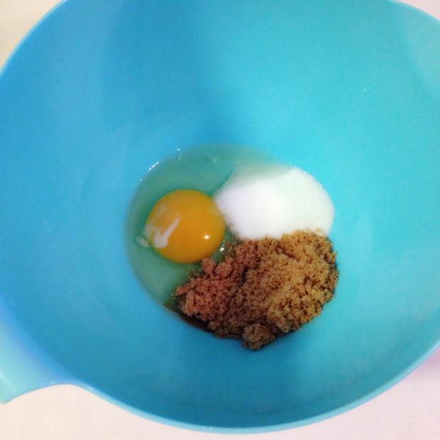 Egg og sukrin