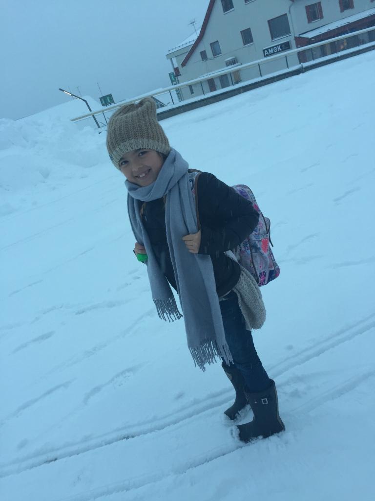 Snøen har endelig kommet til Geilo