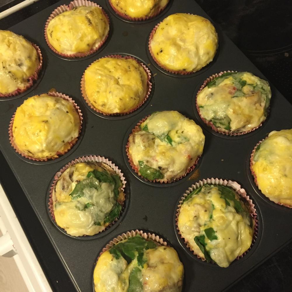Eggemuffins med det du ønsker oppi